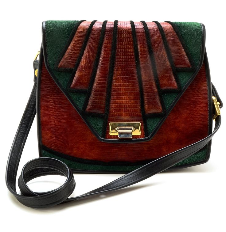 Roche Leather Patchwork Purse
