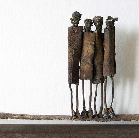 Metal sculptures | Junk art metal sculpture artist JP Jonsson