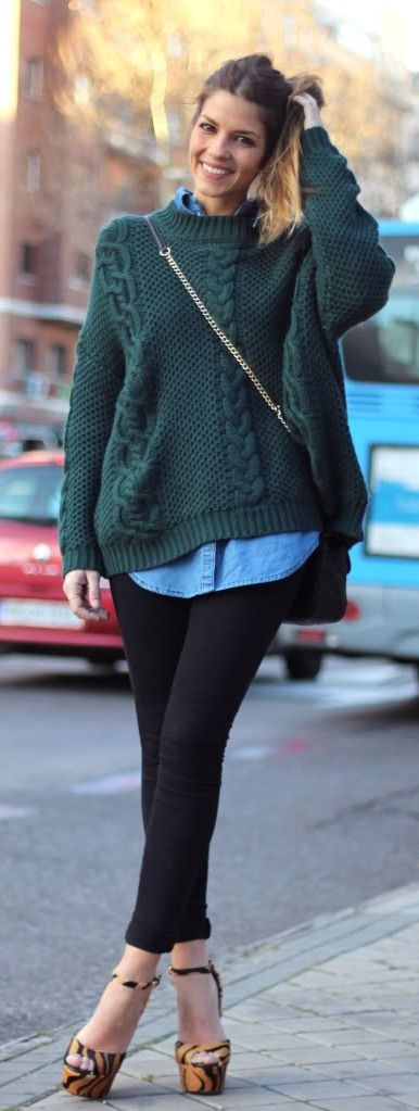 casual layered style