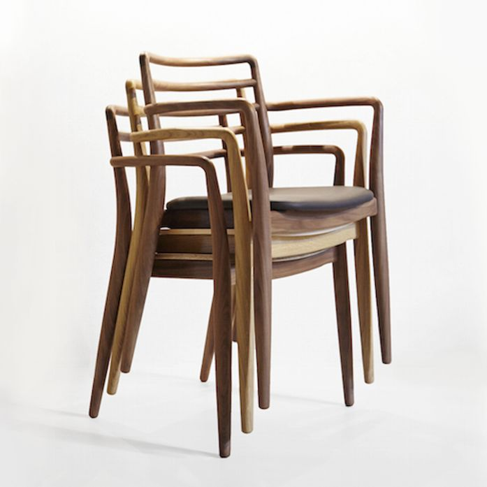 Tor Stacking Chair,  Stackable with and without Arms, up to 5 chairs per stack.