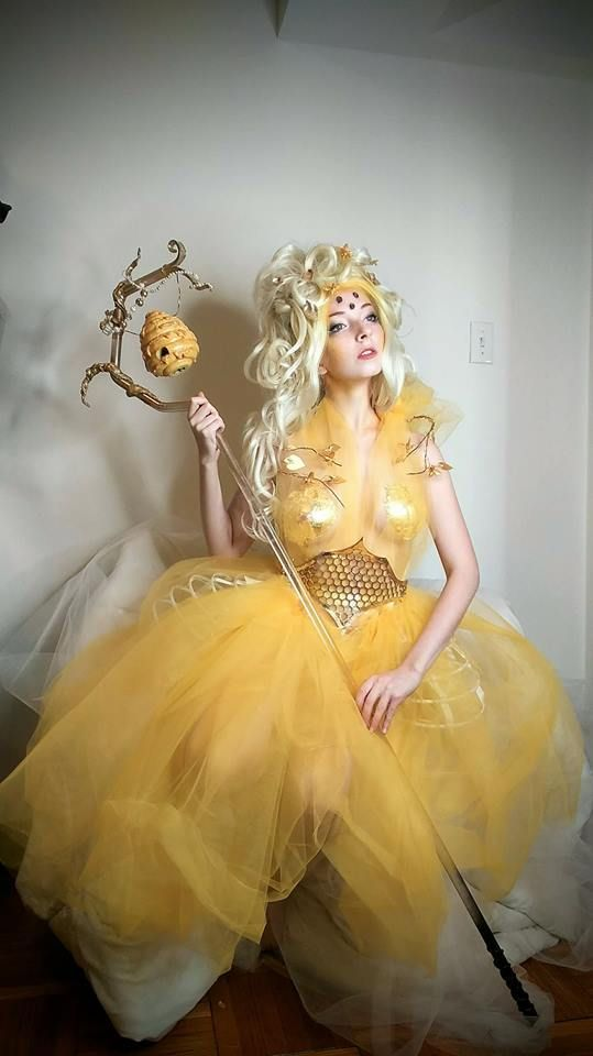 Queen Bee costume – #Bee #costume #Queen