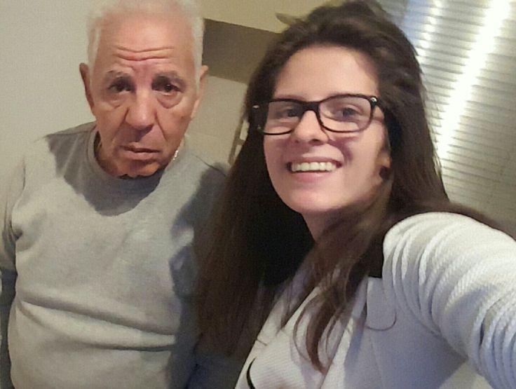Mijn liefste opa die er altijd voor me is maak niet uit wat voor situatie het is 😍😍💕