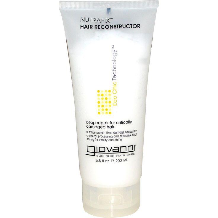 Giovanni, Восстанавливающая маска для волос Nutrafix Hair Reconstructor, 6,8 жидких унций (200 мл)