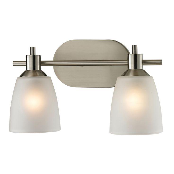 Gallery For Photographers Westmore Lighting Light Fillmore Brushed Nickel LED Bathroom Vanity Light