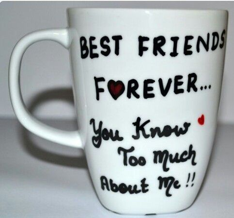 best friends forever coffee mug funny gift for by dreamandcraft - Valentine Gifts For Best Friend