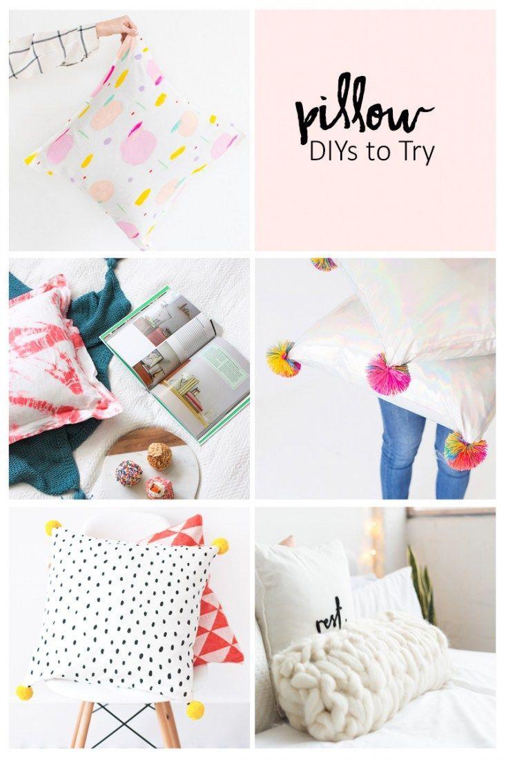 5 Pillow Diys To Try Diy Throw Pillows Diy Pallet Sofa Pillows