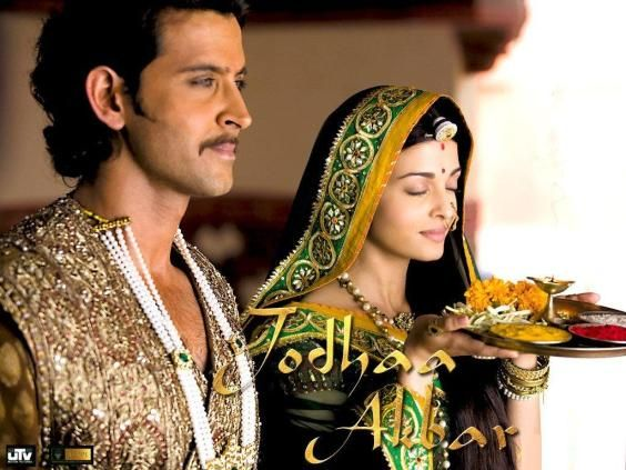 Actors Hritik Roshan & Aishwarya Rai. they were amazing in jodha akbar than in dhoom-2. love this movie a lot.
