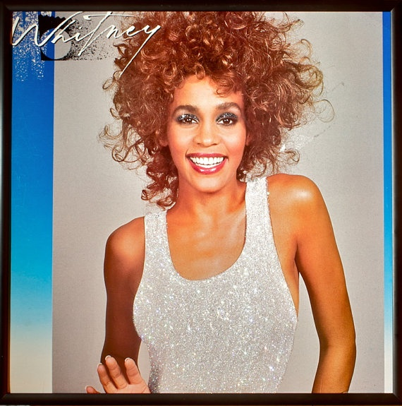 http://www.etsy.com/listing/94293773/glittered-whitney-houston-whitney-album?ref=v1_other_2 $150