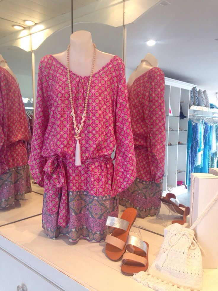 Noosa tunic in pink