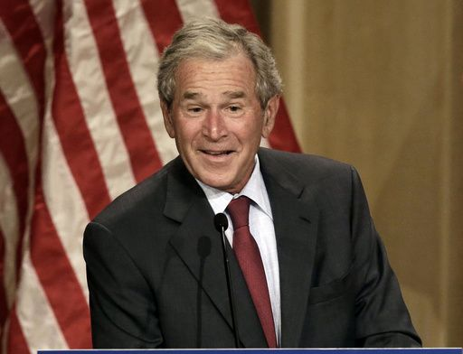 Bush promotes new book, reflects on painting and the press