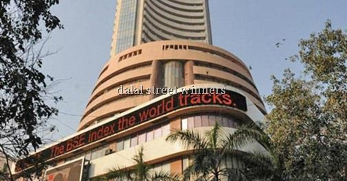 BSE Sensex plunged by 541 points to two-week low