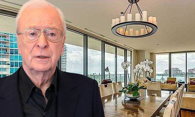 Michael Caine's luxury Miami apartment goes up for sale for $8.4m