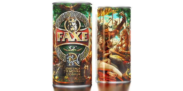 Последняя глава из саги о викинге Рагнаре Лодброке от FAXE PREMIUM | Пресс-центр | Московская Пивоваренная Компания