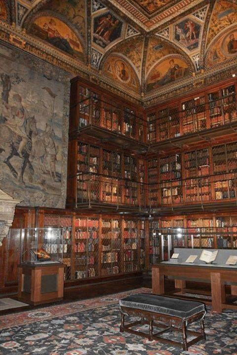 The Morgan Library and Museum, New York #libraries