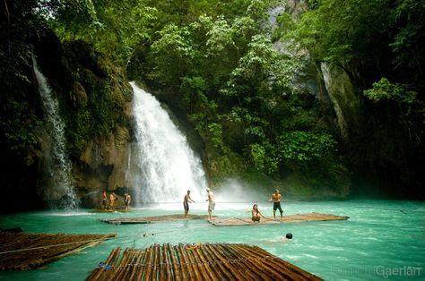 Kawasan Falls, Moalboal, Cebu, Philippines