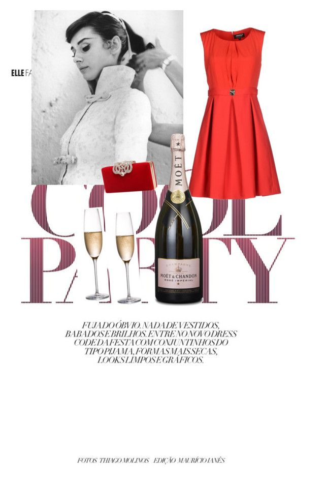 """Untitled #9"" by roxramp on Polyvore featuring Christian Louboutin, A'biddikkia, GE and Rogaska"