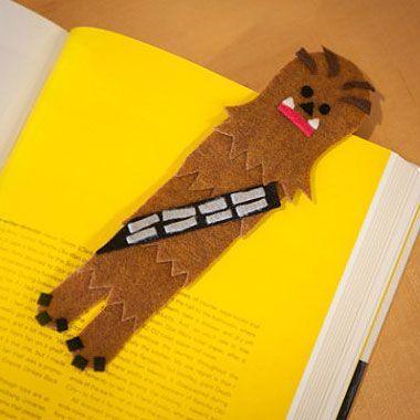 Marcapáginas de Chewbacca