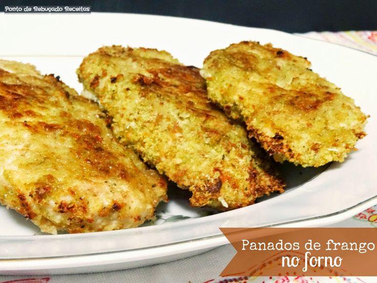 Ponto de Rebuçado Receitas: Panados de frango no forno