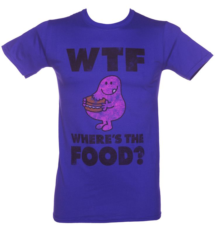 TruffleShuffle Mens Mr Greedy Wheres The Food WTF T-Shirt Say it loud and say it proud with this Mr Greedy t-shirt! WTF? If youre a fan of the Roger Hargreaves collection and love to show off your greedy side, this awesome t-shirt is a must have. http://www.MightGet.com/february-2017-3/truffleshuffle-mens-mr-greedy-wheres-the-food-wtf-t-shirt.asp