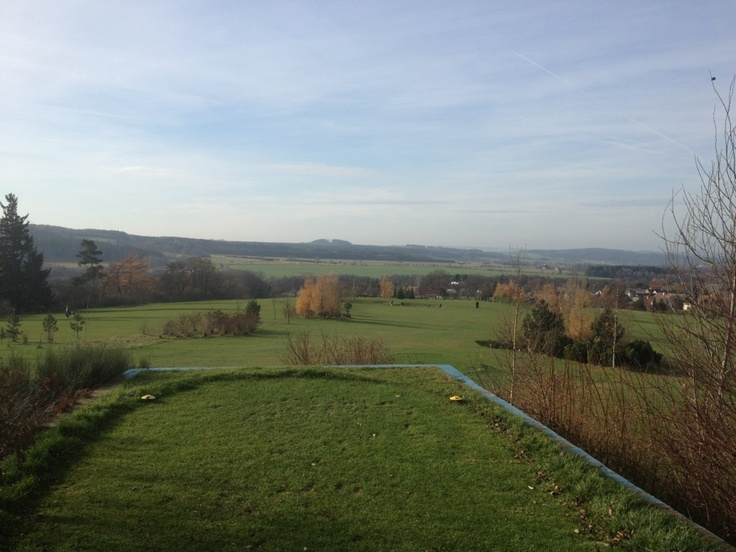 Hořehledy Course close to Pilsen, Czech Republic. Lovely village 9-hole course.