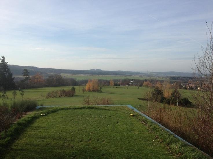 Hořehledy Course close to Pilsen, Czech Republic. Lovely village 9-hole course.