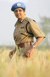 Kiran Bedi was the first woman officer to join the Indian Police Service (IPS), way back in 1972.