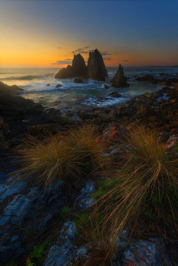 ~~Camel Rocks   sunrise sea stacks seascape, Bermagui, NSW, Australia   by Goff Kitsawad~~