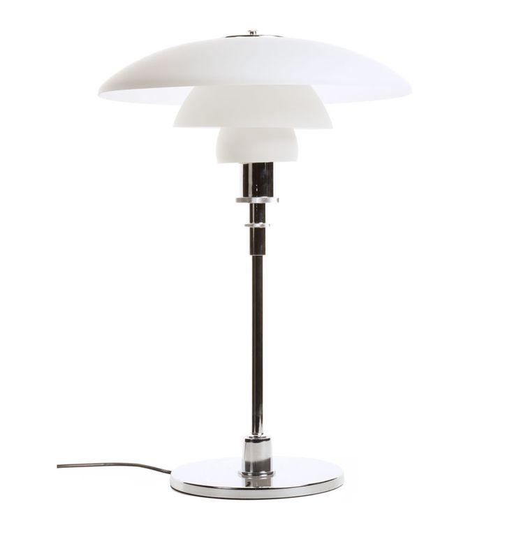Replica Poul Henningsen PH 4 1/2 Table Lamp by Loyde - Matt Blatt