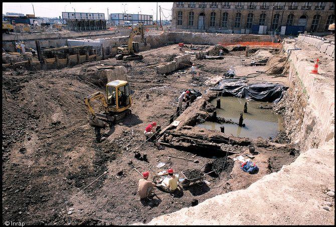Port médiéval Tropeyte à Bordeaux, 13e-14e s.