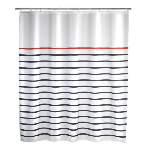 Rideau de douche Rideau de douche Marine white en polyester Rideau de douche Marine white en polyester