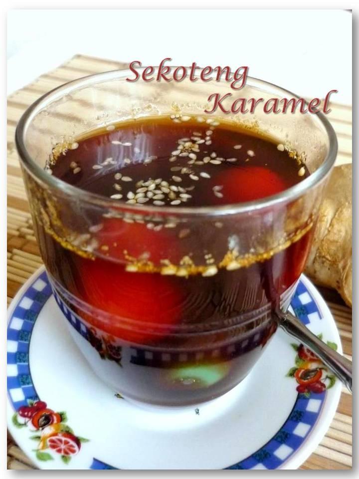 Sekoteng Karamel, Indonesian drink