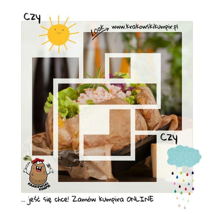 TUTAJ ZNAJDZIESZ INFORMACJE, NA TEMAT ZAMÓWIEŃ ONLINE: ☛ http://krakowskikumpir.pl/zamow-online/ ☎ Nic prostszego, ZAPRASZAMY :)  #krakowskikumpir #kumpir #kraków #krakow #warszawa #rzeszów #katowice #słońce #deszcz #pogoda #food #goodfood #online #ziemniak #potatos #baked #bakedpotatos #info