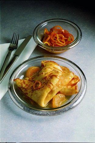 Crêpes Suzette - Larousse Cuisine