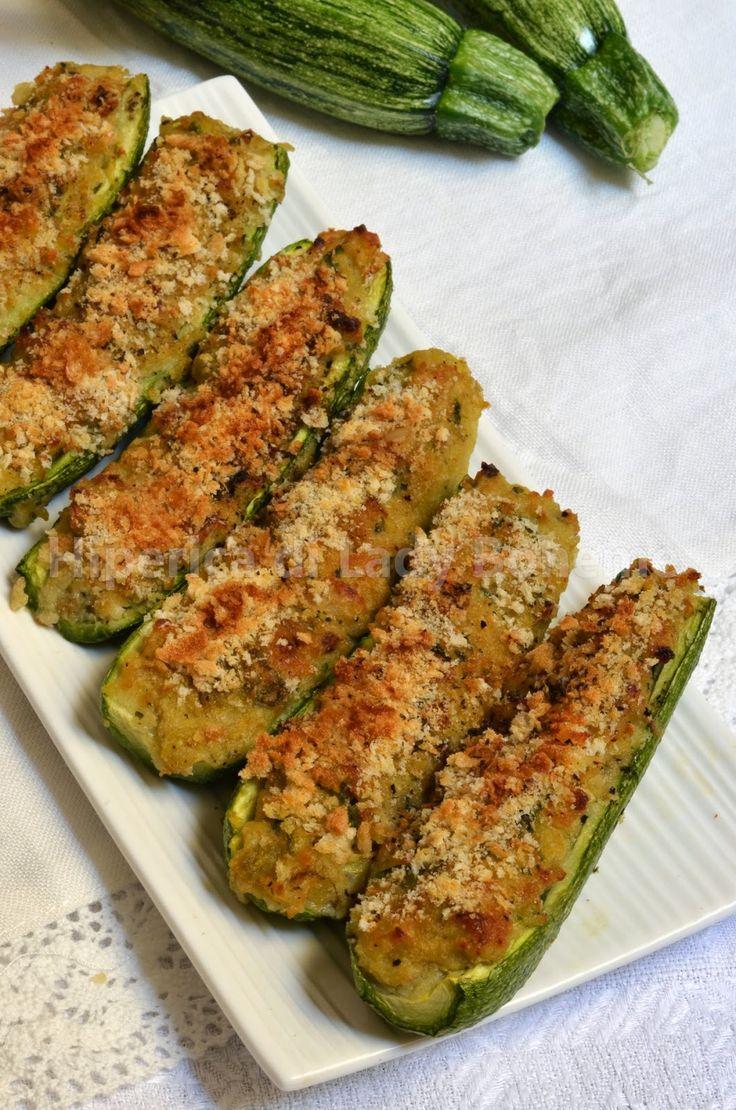 Hiperica di Lady Boheme: Ricetta zucchine ripiene vegetariane