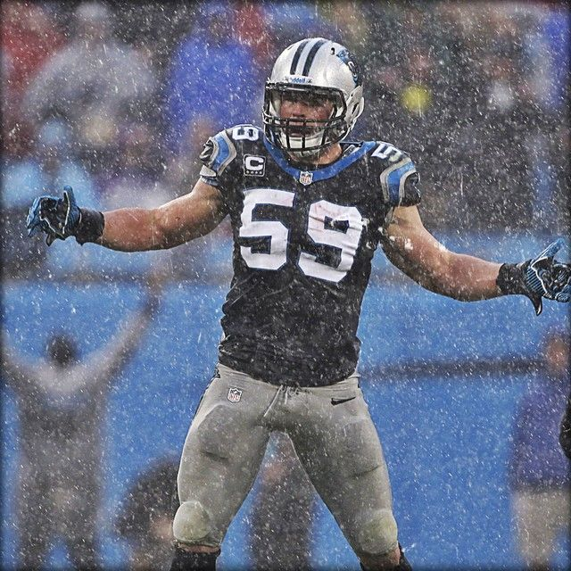 from Carolina Panthers 24 tackles. #LUUUUKE is a beast.