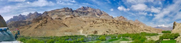 Ladakh is a region in Indian state of Jammu and Kashmir that currently extends from the Kunlun mountain range to the main Great Himalayas to the south, inhabited by people of Indo-Aryan and Tibetan descent.