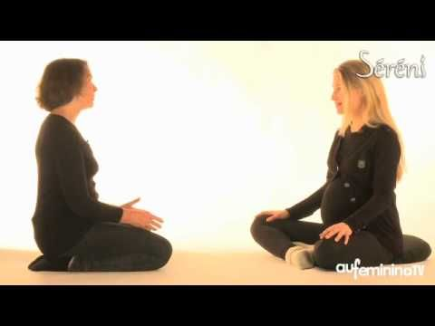 Yoga femme enceinte : une séance de yoga en vidéo - YouTube