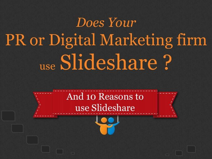 Does your digital marketing firm use slideshare for content marketing by Telezent Inc via Slideshare