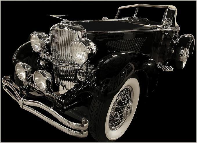 Vintage Car via gallery.photo.net