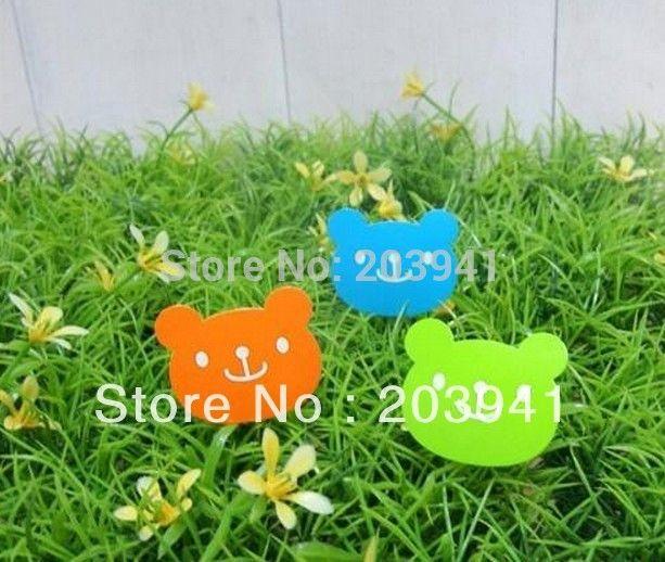 600pcs/lot  Korea creative Bear design DIY Multifunction Sticker Seal sticker/Point Sticker 3 colors  Wholesale