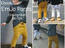 Ebook EmJo Pants - Hose 86-128 - Schnitt/Anleitung