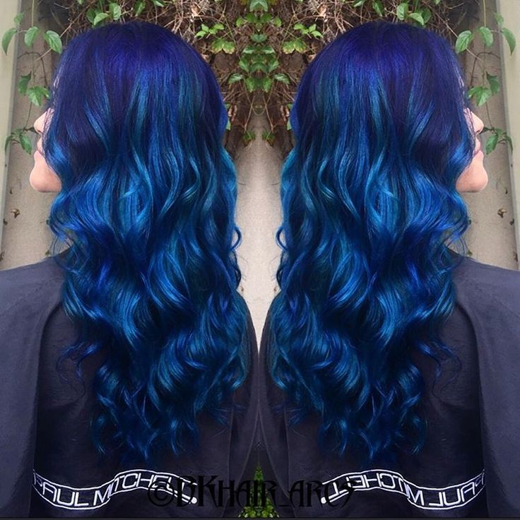 Sapphire Hair Color