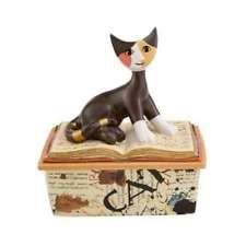 Goebel Tarso ama la musica Rosina Wachtmeister Chats Figurines Porcelaine Dure