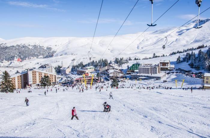 Ilgaz Dağı Kayak Turu - Ayakizi Turizm Kar altında Ilgaz Dağının Güzellikleri