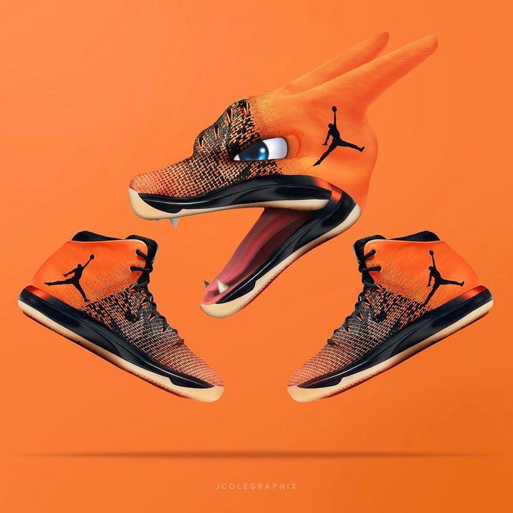 Jordan 31, Sneaker Art, Double Tap, Comment, Charizard, Air Jordans,  Shattered Backboard, Taps, Nintendo