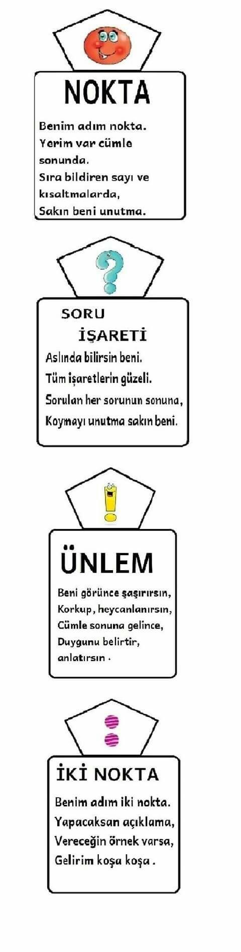 Noktalama işaretleri 1 Eğitim #Education http://turkrazzi.com/ppost/355362226837285089/