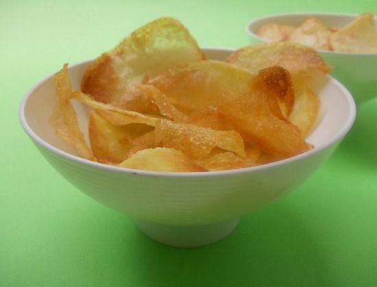 Chips di patate-ricetta giallo zafferano