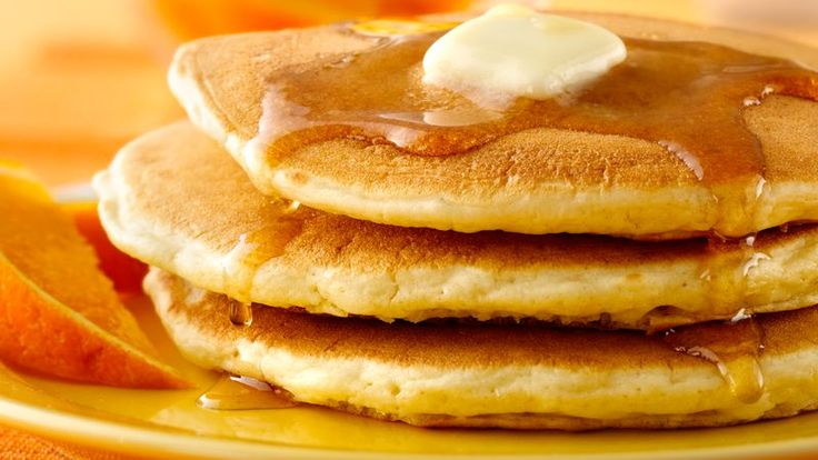 This classic pancake recipe has appeared in every Betty Crocker cookbook since 1950. Pancakes are a breakfast tradition and are so easy to make. Our recipe calls for regular milk, but we also give a variation to use buttermilk. Top either version with maple syrup or fresh fruit. Be sure to try our new twist, made with cornmeal, they're hearty and have a delicious buttery syrup on top.
