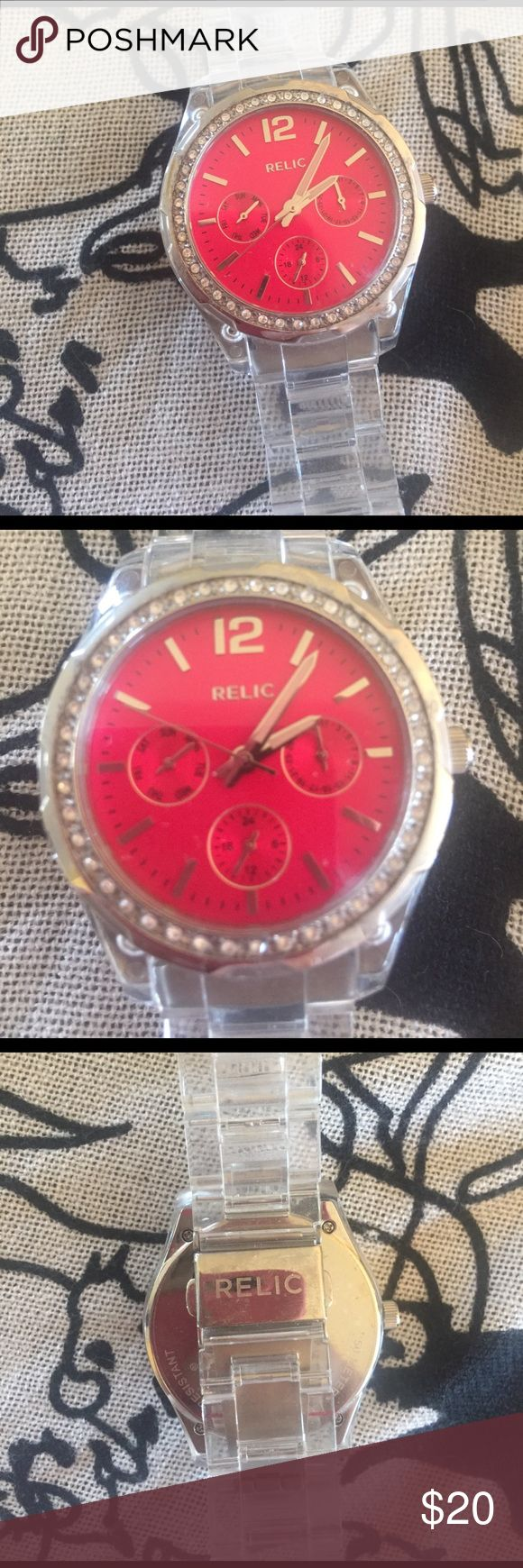 Fossil Relic Watch Adjustable Fossil Accessories Watches