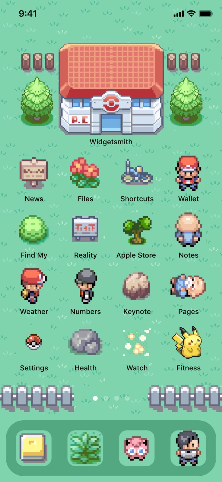 Ios 167 icons pokemon fire red leaf green iphone ios14 app